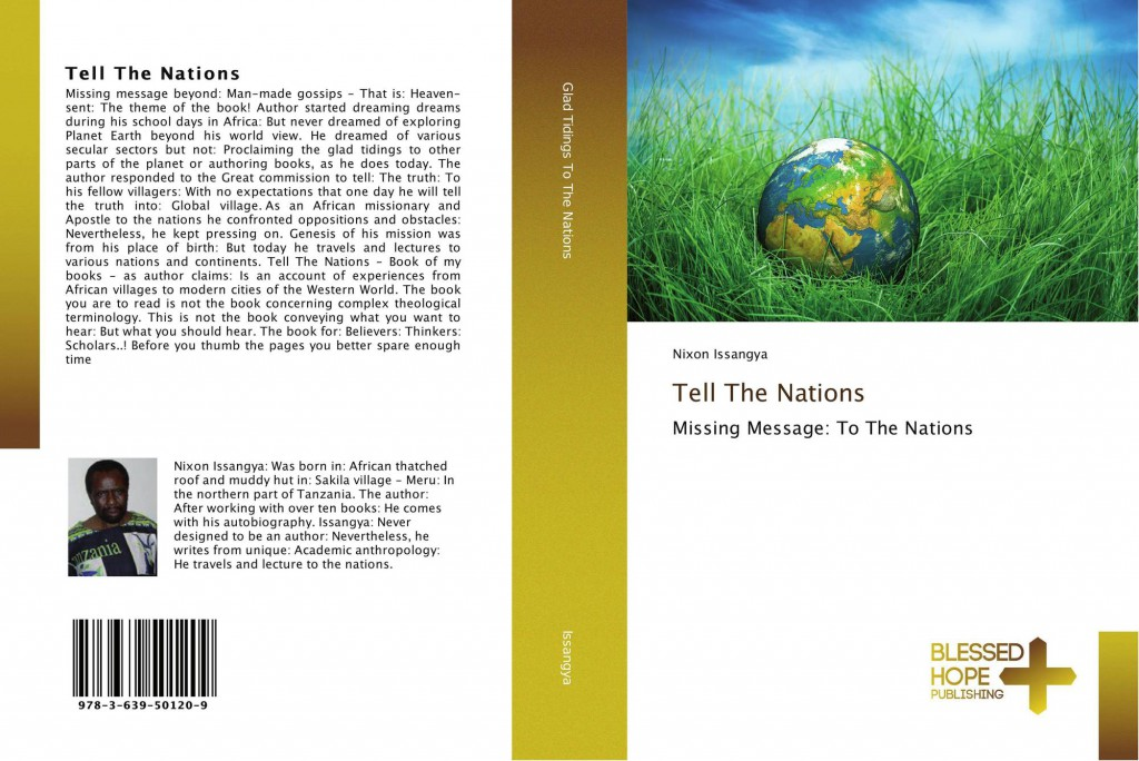 Cover photo of Tell The Nations by Nixon Issangya