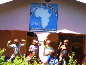 Our orphans are joyful as we keep on supporting them in in various villages of: AFRICA.